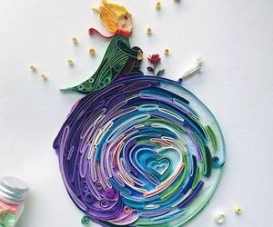 art, beautiful, and paperquilling image
