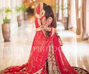 bride, wedding, and shaadi image