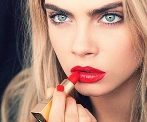 cara delevingne, model, and red image