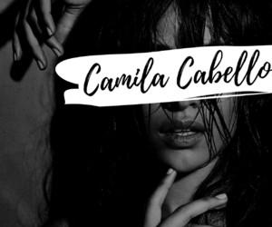 album, black and white, and camila cabello image