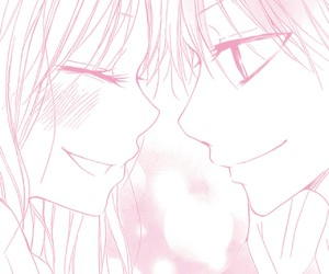couples, pink, and kawaii image