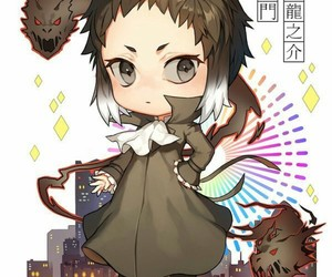 anime, bungo stray dogs, and akutagawa image