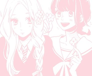 flowers, girls, and kawaii image