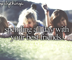 friends, best friends, and justgirlythings image