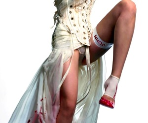 corset, legs, and fashion image