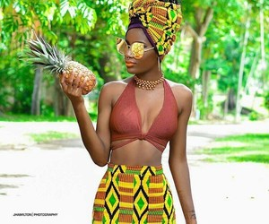 melanin and pineapple image