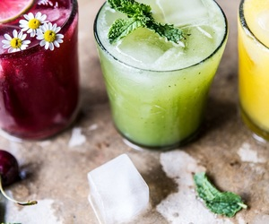 alcohol, green, and drinks image