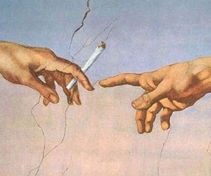 art, cigarette, and poetic image