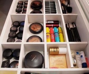 dressing table and makeup image