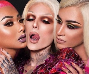 jeffree star and makeup image