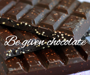 before i die, chocolate, and him image