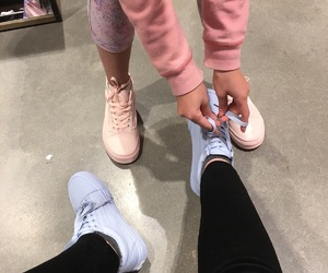 adidas, couple, and summer image