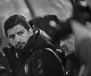 black and white, man, and alhilal image