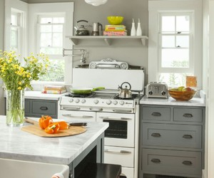 home decor, kitchen, and small kitchen image