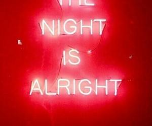 neon, night, and light image