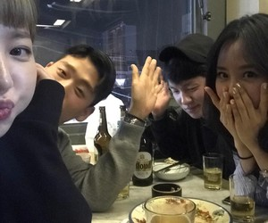 gang, table, and ulzzang image