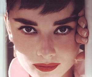 audrey hepburn, audrey, and eyes image