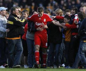 captain and liverpool fc. ynwa image