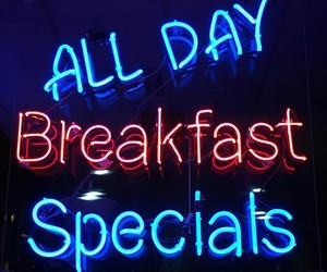 blue, breakfast, and light image