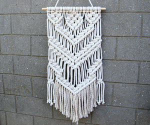 etsy, hippie chic, and hippie wall hanging image