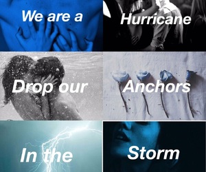 book, hurricane, and storm image
