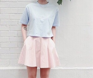 pastel, pink, and style image
