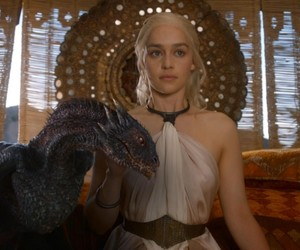 dragon, game of thrones, and got image