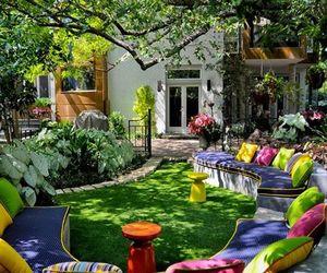 garden, design, and home image