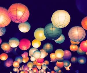 light, night, and lantern image