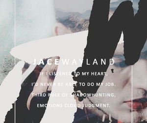 jace wayland, jace herondale, and shadowhunters image
