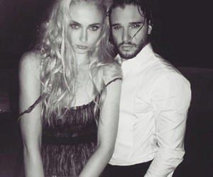 sophie turner, game of thrones, and jon snow image