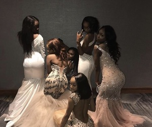 dress, Prom, and squad image