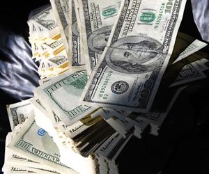 america, cash, and money image