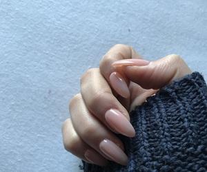 nail, nails, and Nude image