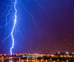 beauty, color, and lightning image