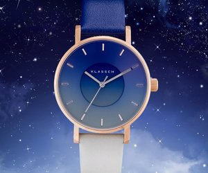 midnight, watch, and sky collection image