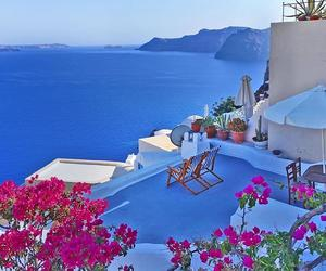 flowers, traveling, and Greece image
