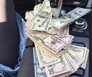 money, car, and luxury image