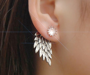 earrings, spring, and summer image