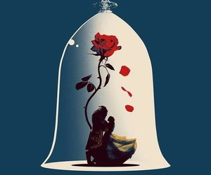 disney, beauty and the beast, and wallpaper image