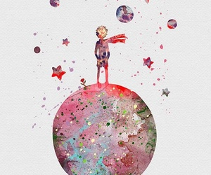 art, stars, and the little prince image