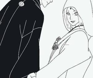 narusaku, naruto uzumaki, and sakura haruno image