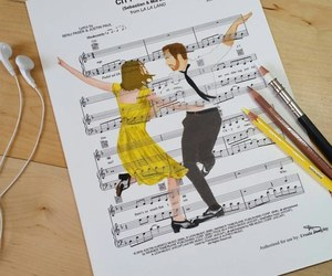 art, la la land, and drawing image