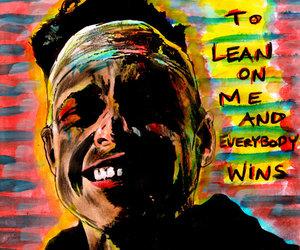 art, elliot, and laugh image
