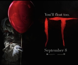 clown, it movie, and Stephen King image