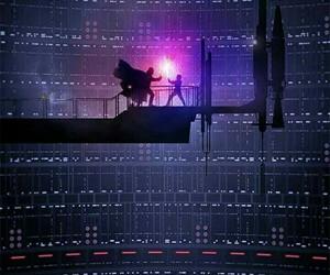 star wars, darth vader, and luke skywalker image