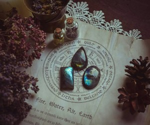 witch, crystal, and grunge image