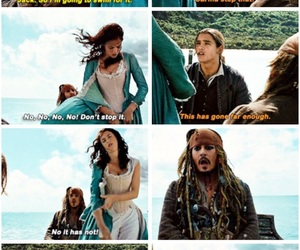 funny, jack sparrow, and movie image