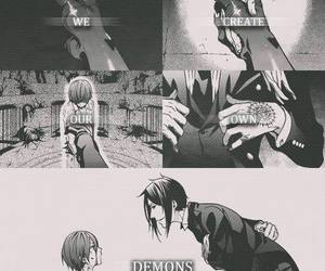 kuroshitsuji, demon, and black butler image