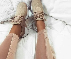 Nude, shoes, and sneakers image